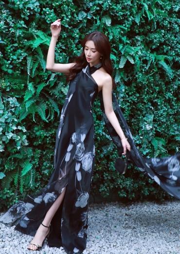 Chiling Lin in Ralph Lauren Spring 2019-3