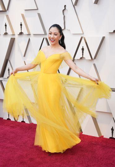 Constance Wu in Atelier Versace-1