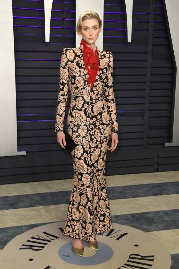 Elizabeth Debicki in Armani Prive Spring 2019 Couture