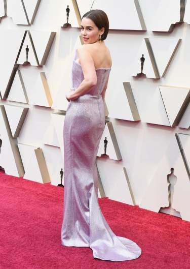 Emilia Clarke in Balmain-3