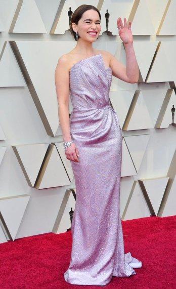 Emilia Clarke in Balmain-6