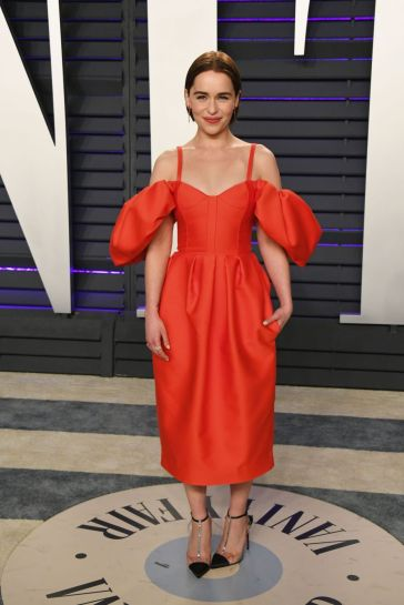 Emilia Clarke in Rosie Assoulin Fall 2019-3