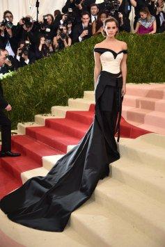 Emma Watson in Clavin Klien for 2016 Met Gala