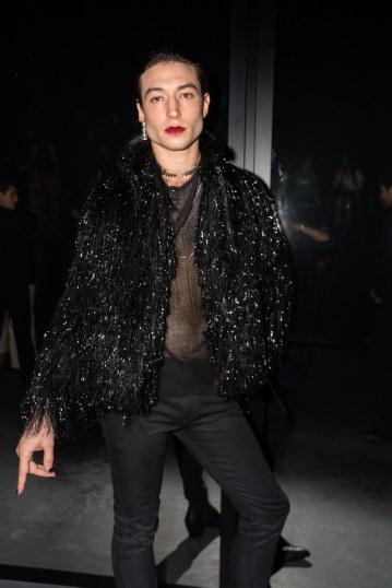 Ezra Miller in Saint Laurent Spring 2019 Menswear-4