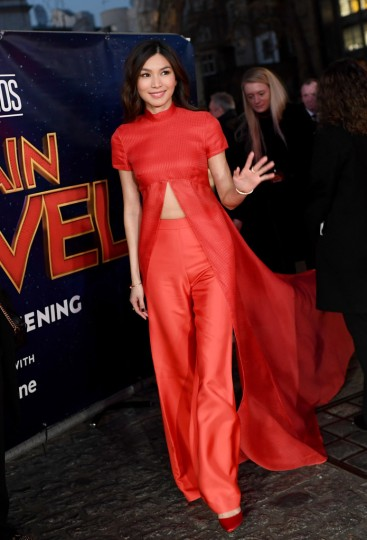 Gemma Chan in Brandon Maxwell Spring 2019-4