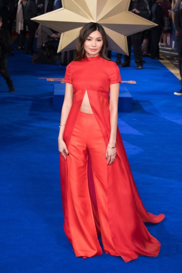 Gemma Chan in Brandon Maxwell Spring 2019-5