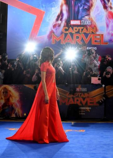 Gemma Chan in Brandon Maxwell Spring 2019-7
