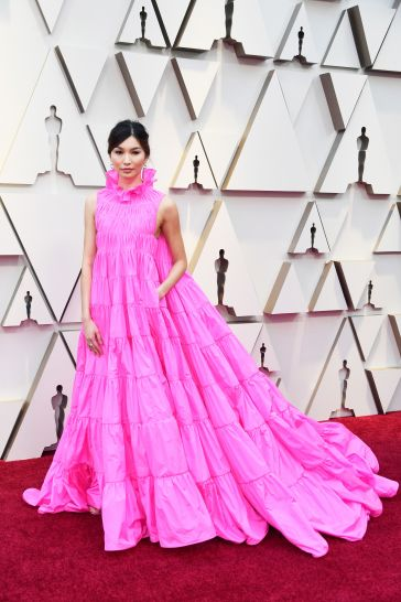 Gemma Chan in Valentino Spring 2019 Couture