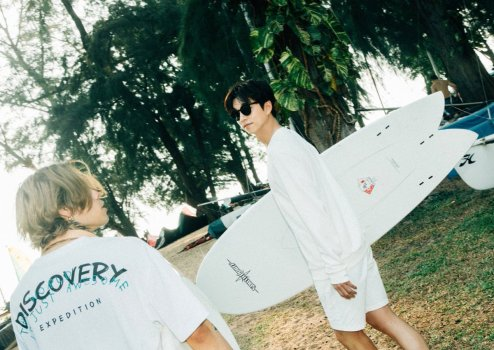 Gong Yoo for Discovery Spring 2019 Campaign-9