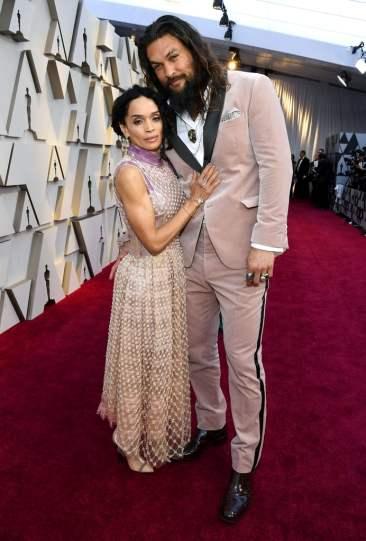 Jason Momoa andLisa Bonet in Fendi Fall 2018 Couture-1