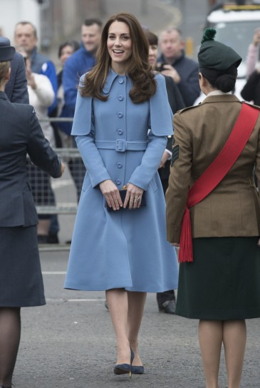 Kate Middleton in Mulberry Fall 2018-2