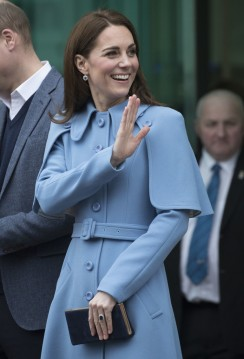 Kate Middleton in Mulberry Fall 2018-9