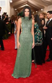 Kendall Jenner in Calvin Klein for 2015 Met Gala