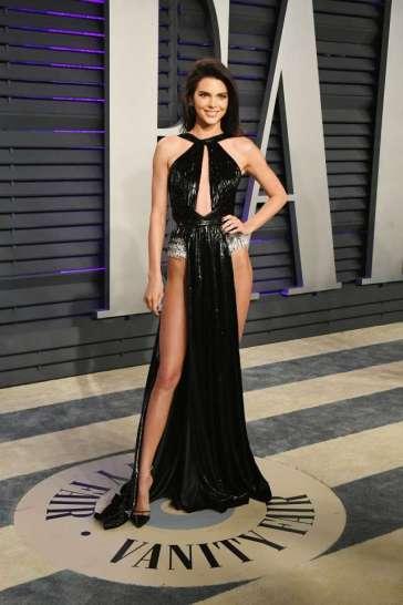 Kendall Jenner in Rami Kadi Spring 2019 Couture-1