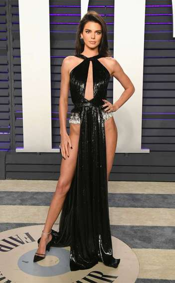 Kendall Jenner in Rami Kadi Spring 2019 Couture