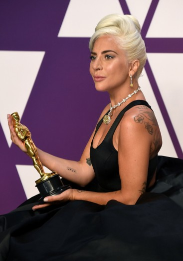 Lady Gaga in Brandon Maxwell Fall 2019-2