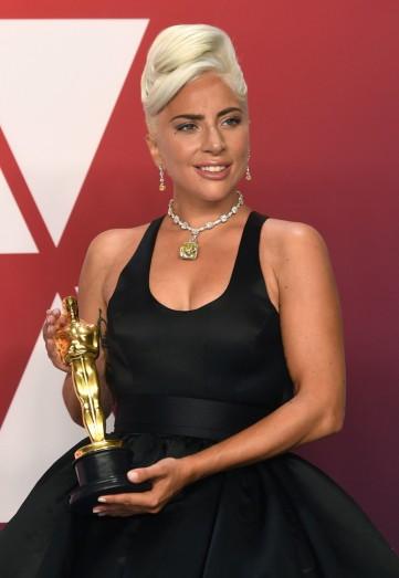 Lady Gaga in Brandon Maxwell Fall 2019-3