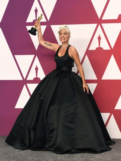 Lady Gaga in Brandon Maxwell Fall 2019
