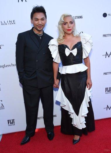 Lady Gaga in Rodarte Fall 2019-2