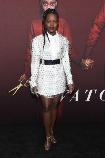 Lupita Nyong'o in Balmain Fall 2019-1