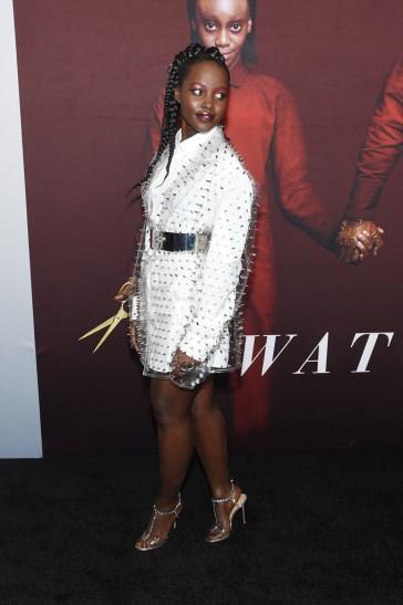 Lupita Nyong'o in Balmain Fall 2019-2