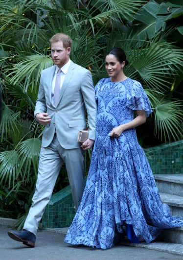 Meghan Markle in Carolina Herrera Fall 2019-2