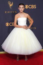 Millie Bobby Brown in Calvin Klien for 2017 Emmy Awards