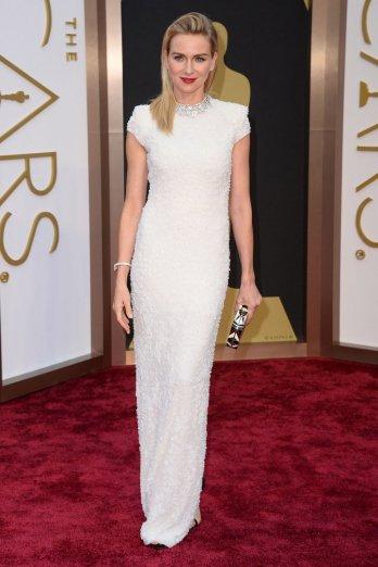 Naomi Watts in Calvin Klein for 2014 Oscar