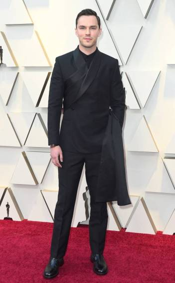 Nicholas Hoult in Dior Men Fall 2019
