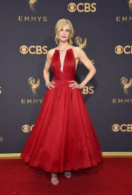 Nicole Kidman in Clavin Klien for 2017 Emmy Awards