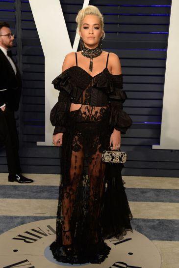 Rita Ora in Alexander McQueen Spring 2018