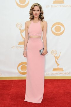 Rose Byrne in Calvin Klein for 2013 Emmy Awards.