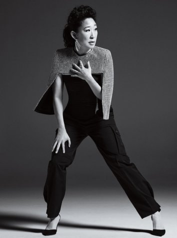 Sandra Oh InStyle US April 2019-5