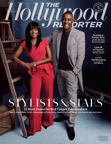 Stars Of Style X The Hollywood Reporter March 2019 Cover C