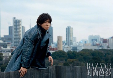 Takuya Kimura Harper's Bazaar China April 2019-9