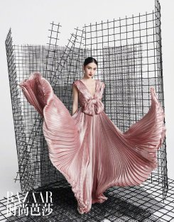 Angelababy for Harper's Bazaar China May 2019-2