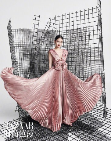 Angelababy for Harper's Bazaar China May 2019-3