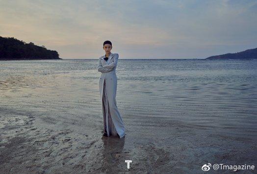 Angelababy T magazine China April 2019-4