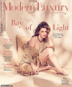 Anne Hathaway Modern Luxury April 2019 Cover B