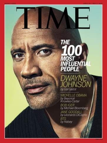 Dwayne Johnson TIME April 2019 Cover