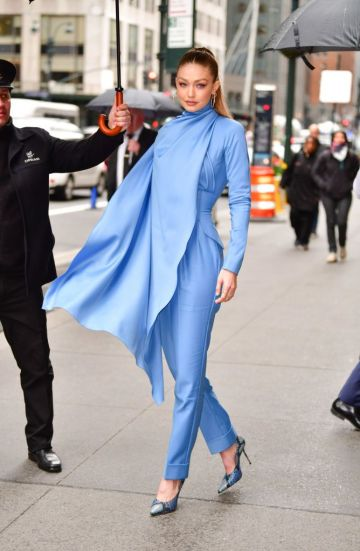 Gigi Hadid in Emilia Wickstead Fall 2019-5