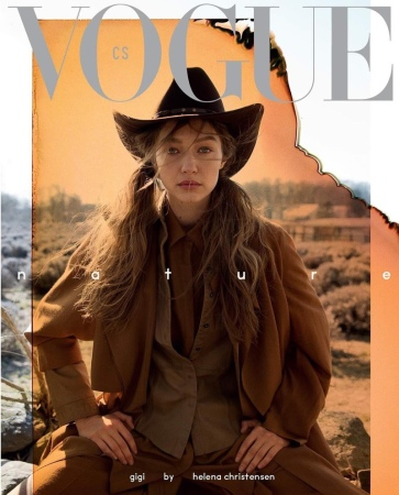 Gigi Hadid Vogue Czechoslovakia May 2019 Cover C