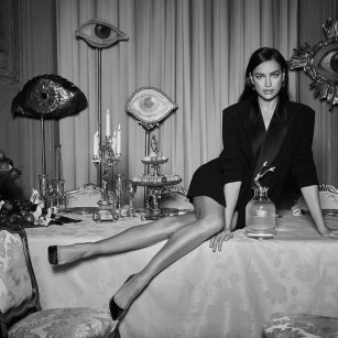 Irina Shayk XJean Paul Gaultier Scandal a Paris Campaign-1
