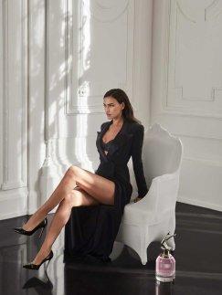 Irina Shayk XJean Paul Gaultier Scandal a Paris Campaign-4