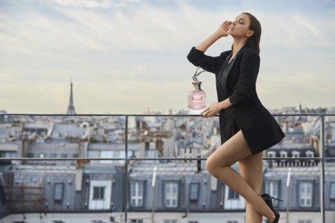 Irina Shayk XJean Paul Gaultier Scandal a Paris Campaign-5