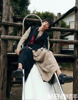 Kentaro Sakaguchi ELLE MEN China Spring Summer 2019-10