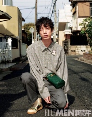 Kentaro Sakaguchi ELLE MEN China Spring Summer 2019-13