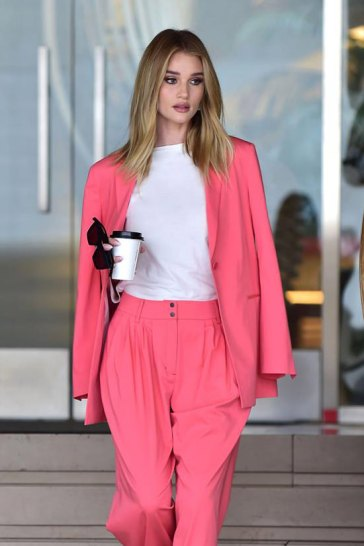 Rosie Huntington-Whiteley in BCBGMAXAZRIA-2