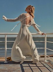 Sasha Pivovarova for Vogue Greece May 2019-4