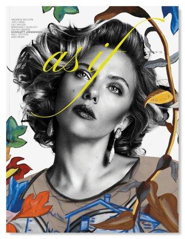 Scarlett Johansson X As If Magazine 2019 Issue No15-1